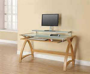 Ikea Standing Computer Desk Oak Home Office Study Computer Desk With Sliding Keyboard