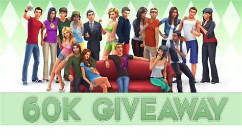 Sims 4 Giveaway - 60k subscribers the sims 4 giveaway closed youtube