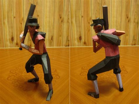 Team Fortress 2 Papercraft - scout crafts tf2