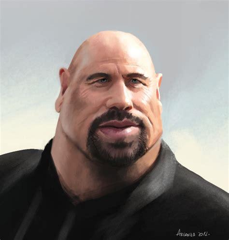Was Balding by Bald Travolta By Arganza On Deviantart