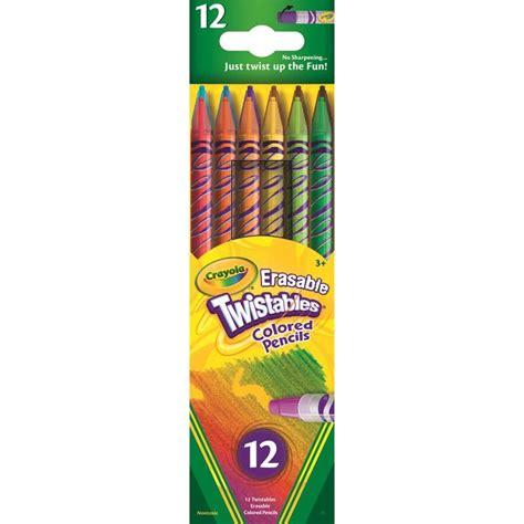 crayola erasable colored pencils crayola 12ct erasable colored pencils