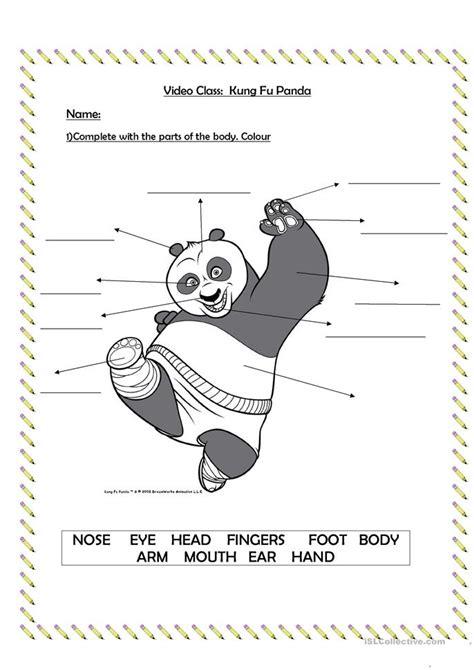 free printable kung fu panda kung fu panda worksheet free esl printable worksheets