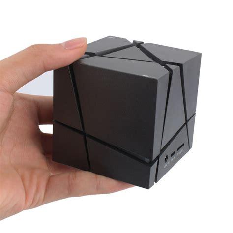 Speaker Handphone Mini Portable 32 qone edge bluetooth speaker cube square led portable wireless stereo mini mp3 speaker fm radio
