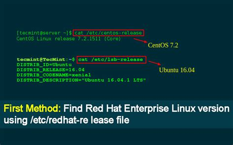 red hat linux 9 tutorial how to identify what rhel version in linux command you