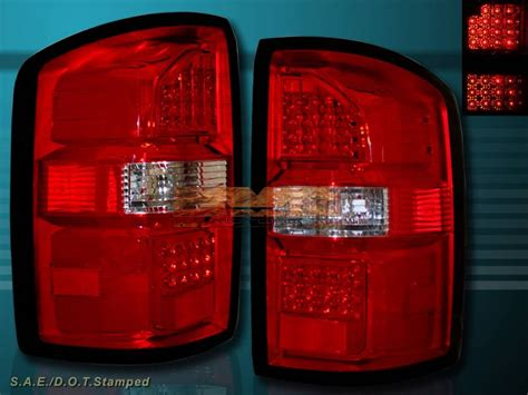 2014 gmc sierra tail lights 2014 2015 gmc sierra 1500 sierra 2500 hd led tail lights