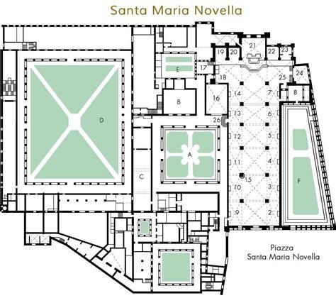 floor plan of the basilica di santa maria maggiore rome santa maria novella plan