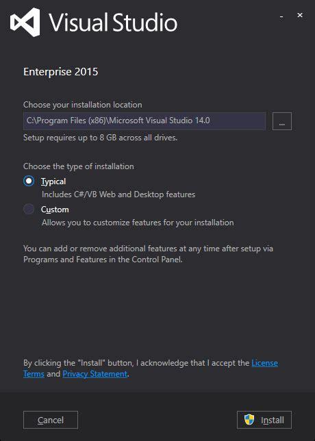 installing visual studio 2015 msdnmicrosoftcom setup changes in visual studio 2015 affecting c