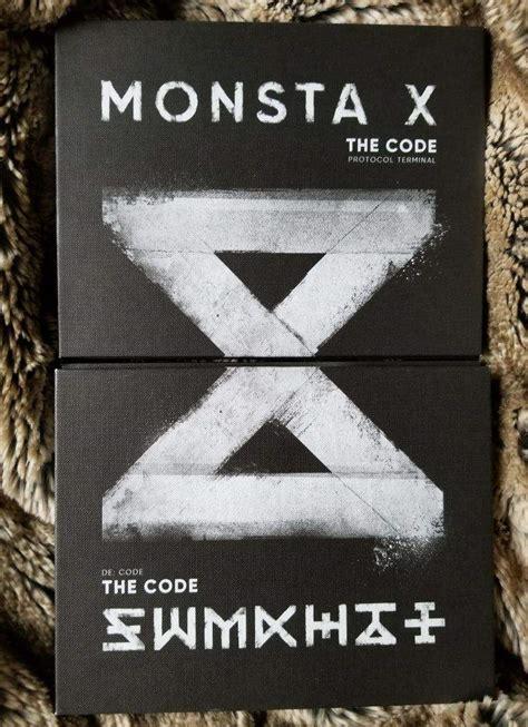 Monsta X The Code De Code Ver No Poster monsta x the code unboxing de code ver k pop amino