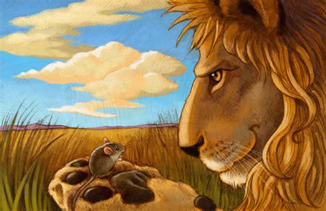 imagenes de leones y ratones f 225 bula infantil el le 243 n y el rat 243 n bosque de fantas 237 as