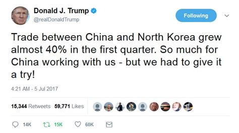 donald trump north korea tweet video trump and company on north korea etc sunday talk