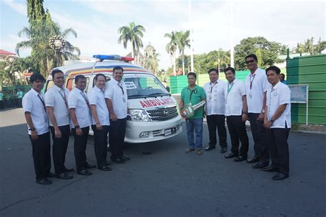 Philippine Charity Sweepstakes Official Website - mayor ony ferrer nag turnover ng bagong ambulansya 171 official website of general