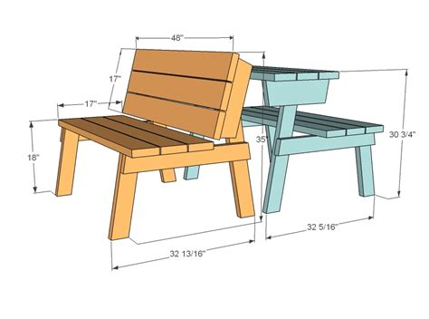 folding picnic table plans   build diy woodworking