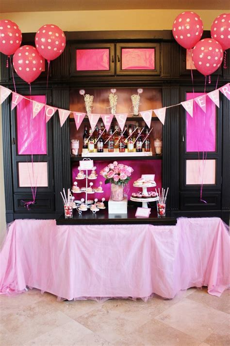 21st Birthday Decorations by 21 Pink Bottles Of On The Wall Pink Bottle 21st Birthday And 21st Birthday