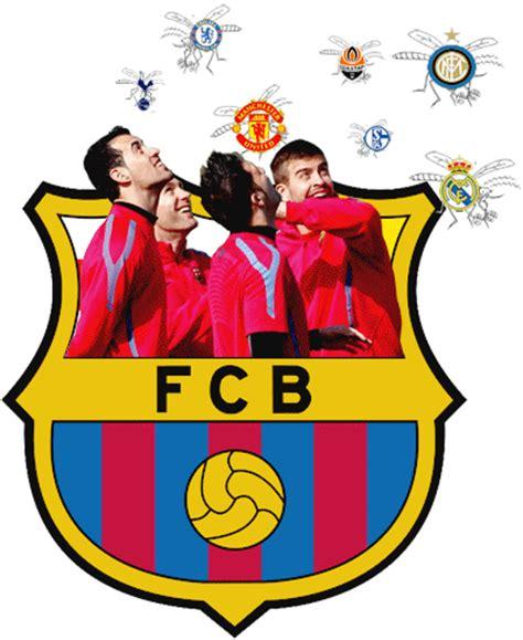 wallpaper barcelona kartun animasi bergerak sepakbola 6 logo fc barcelona