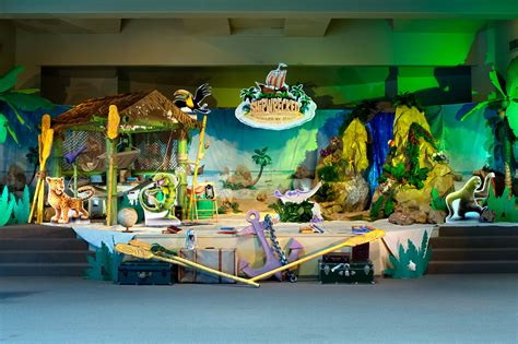 vacation bible school vbs 2018 rolling river rage decorating mural experience the ride of a lifetime with god books shipwrecked vbs 2018 theme