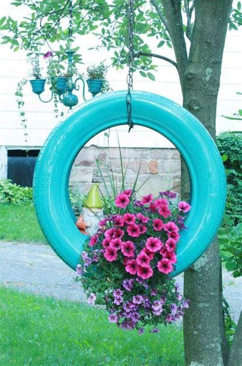 ideas para decorar un jardin con llantas de coche 17 mejores im 225 genes sobre diy jardin en pinterest