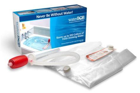 waterbob emergency water storage 100 gallons