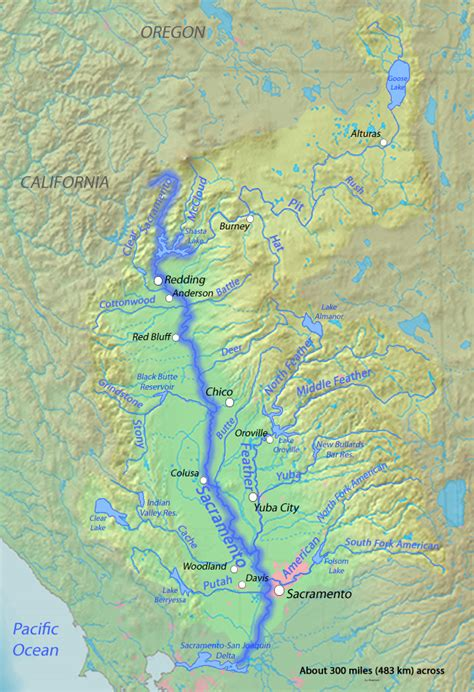 california map rivers rivers for change sacramento river