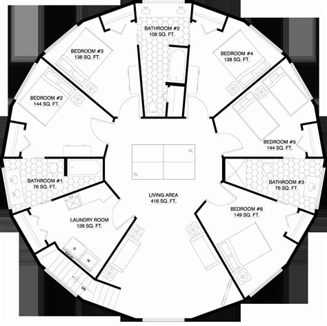 round house plans floor plans round house floor plan