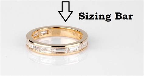 Wedding Ring Rule Of Thumb by Jewelry Definition Sizing Bar