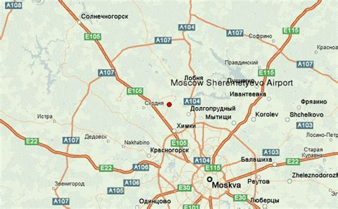 russia map airports airport moskau scheremetjewo location guide