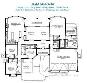 Luxury One Story House Plans Pusch Ridge Vistas Ii Floor Plan Model 3060