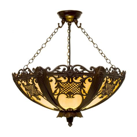 Decorative Pendant Lights Rococo Uplighter Ceiling Pendant Lavishly Decorated With Antique Metal