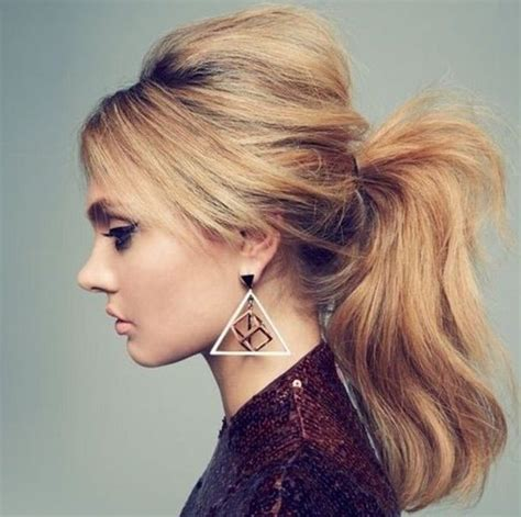 The fashion for schools Ponytail hairstyles for long hair