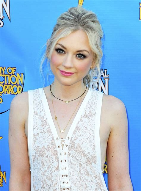 emily kinney music video emily kinney picture 15 the 41st annual saturn awards