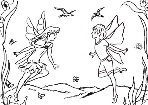 Rainbow Fairy Coloring Pages Rainbow Fairies Coloring Pages