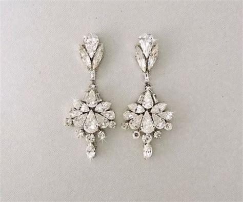 Ohrringe Hochzeit Vintage by Wedding Earrings Chandelier Earrings Bridal Earrings