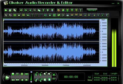 format audio enregistrement okoker audio recorder editor un 233 diteur audio et studio