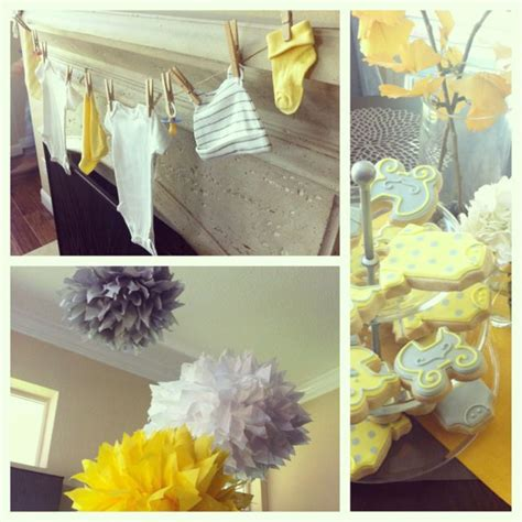Baby Shower Decorations Yellow by 32 Best Images About Yellow Elephant Baby Shower On
