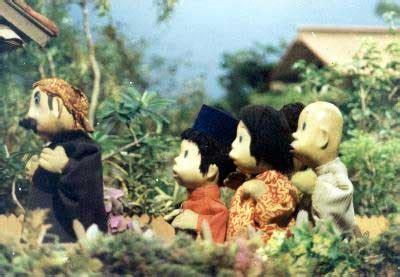 film boneka unyil etnokartunologi si unyil karakter ngartun pembawa