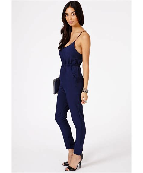 Religi Jumpsuit 2 In 1 Navy navy blue jumpsuit tulips clothing