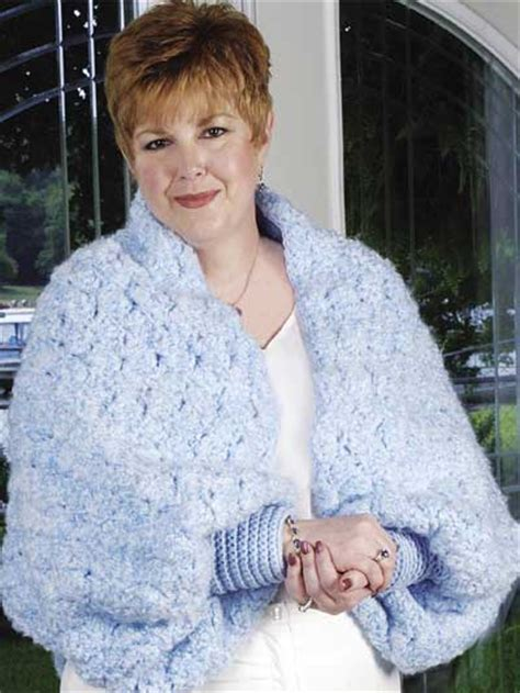 free knitting patterns for shrugs and wraps cozy shrug