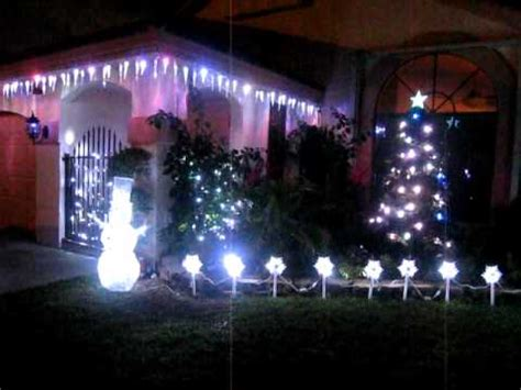 led shooting star icicle lights part 2 gemmy lightshow shooting star icicle lights and