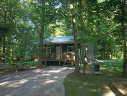 rend lake cabins in the woods