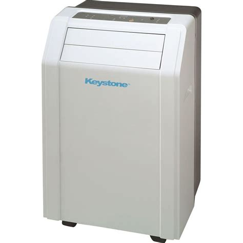 keystone 12 000 btu 115 volt portable air conditioner with
