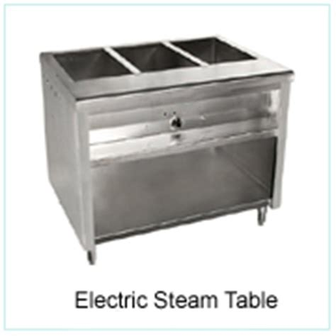 Electric Steam Table by Warming Equipment