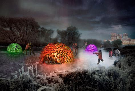 designboom competition 2014 raw wins 2014 warming huts competition with nuzzles