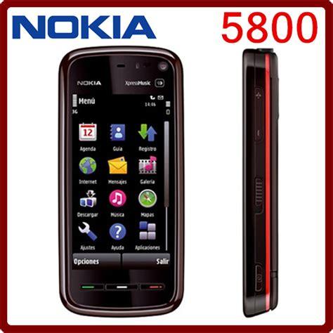 Promo Nokia 5800 Xpress Nokia Jadul Ori Hp Jadul Murah 5800 original unlocked nokia 5800 3 2mp 3g 1230mah gps wifi bluetooth refurbished cell phone