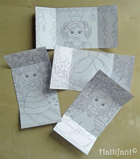 how to make a endless card hattifant s endless princesses card hattifant kid