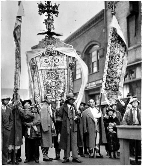 new year in portland oregon new year procession in downtown portland 1928