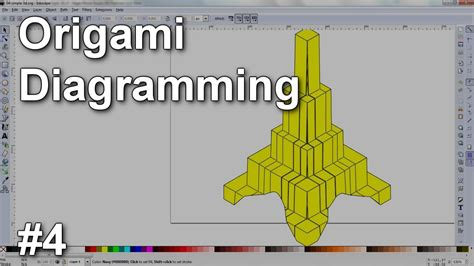 3d Origami Software - origami diagramming 4 simple 3d objects