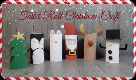 christmas decorations out of toilet rolls recycled paper crafts for craft get ideas
