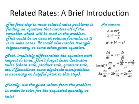 introduction brief ppt related rates powerpoint presentation id 3069387