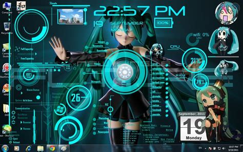 Miku Theme By The Crimsonlotus On Deviantart