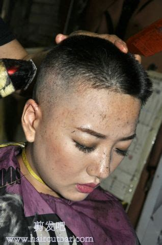 forced punishment haircuts for women getting a nice high and tight buzzcut forced haircut