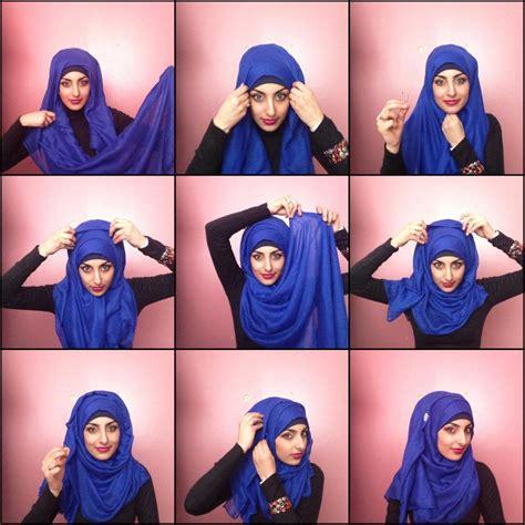 15 cara memakai hijab segi empat simple bacaterusnet 15 tutorial cara memakai hijab simple terbaru 2018